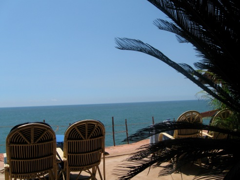 View from a restaurant @ the Cliff