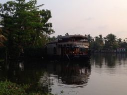 Houseboat on the Backwaters