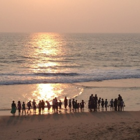 Sunset @ Papanasam Beach
