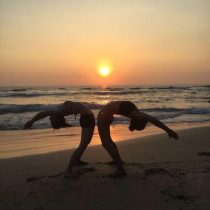 Sunset Yoga @ the Beach