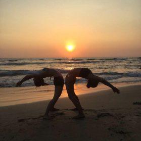 Sunset Yoga @ the Beach