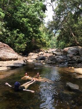 Meenmutty waterfalls