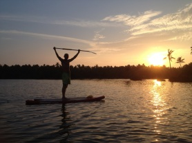 Sunset SUP on the Backwaters