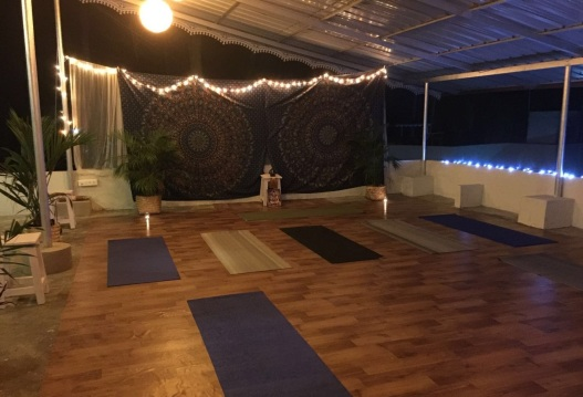 The Yoga Space on the Rooftop